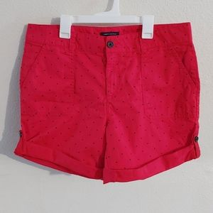 Tommy Hilfiger Polka Dot Cotton Shorts Size 10